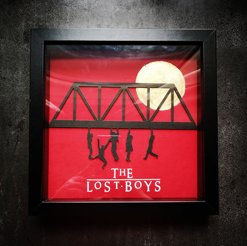 Lost Boys 3D Box Frame - ByCandlelight27