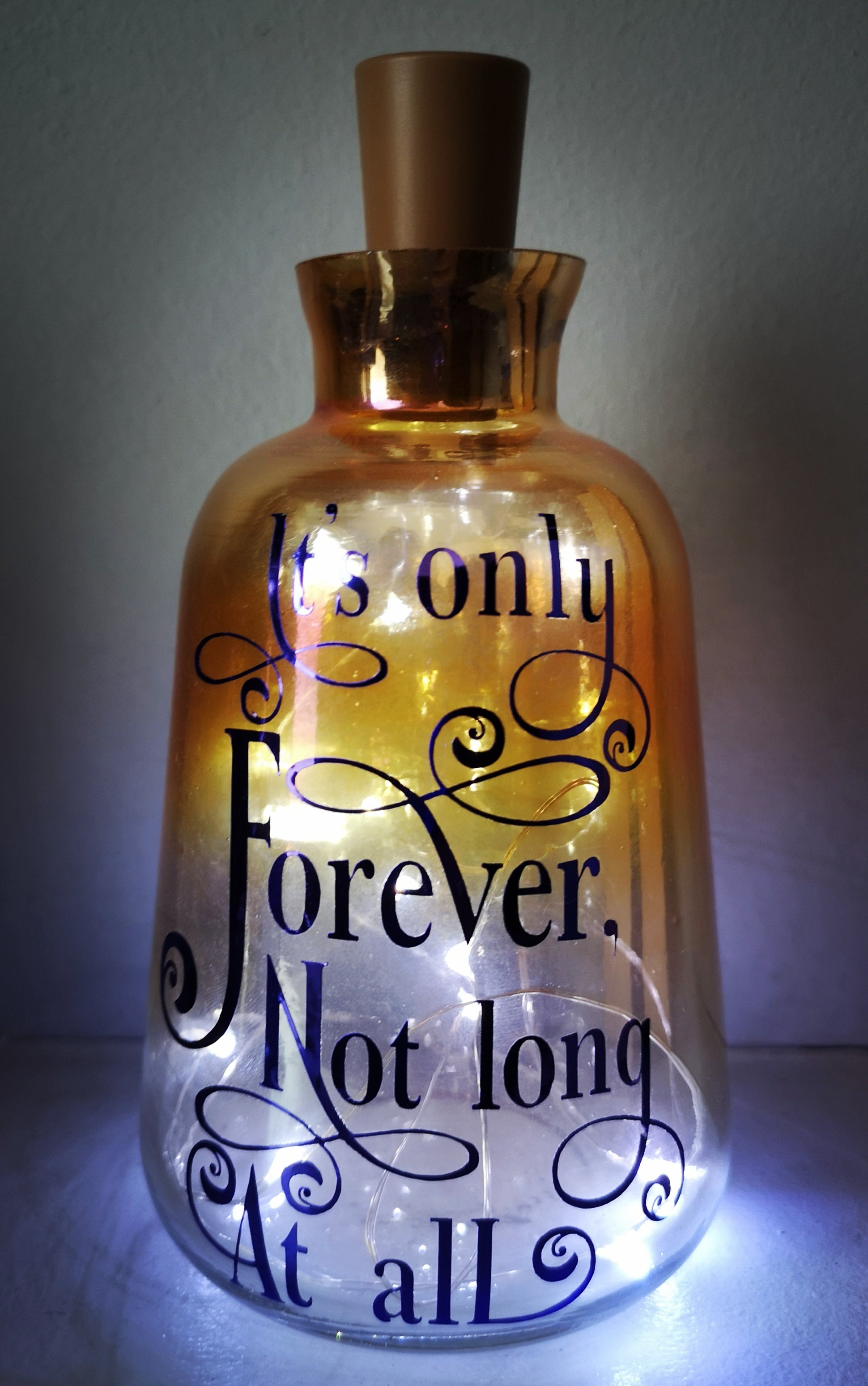 Its Only Forever Labyrinth Vase Light - ByCandlelight27