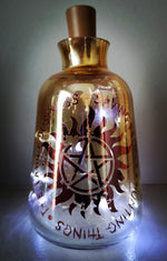 Supernatural Family Business Vase Light - ByCandlelight27