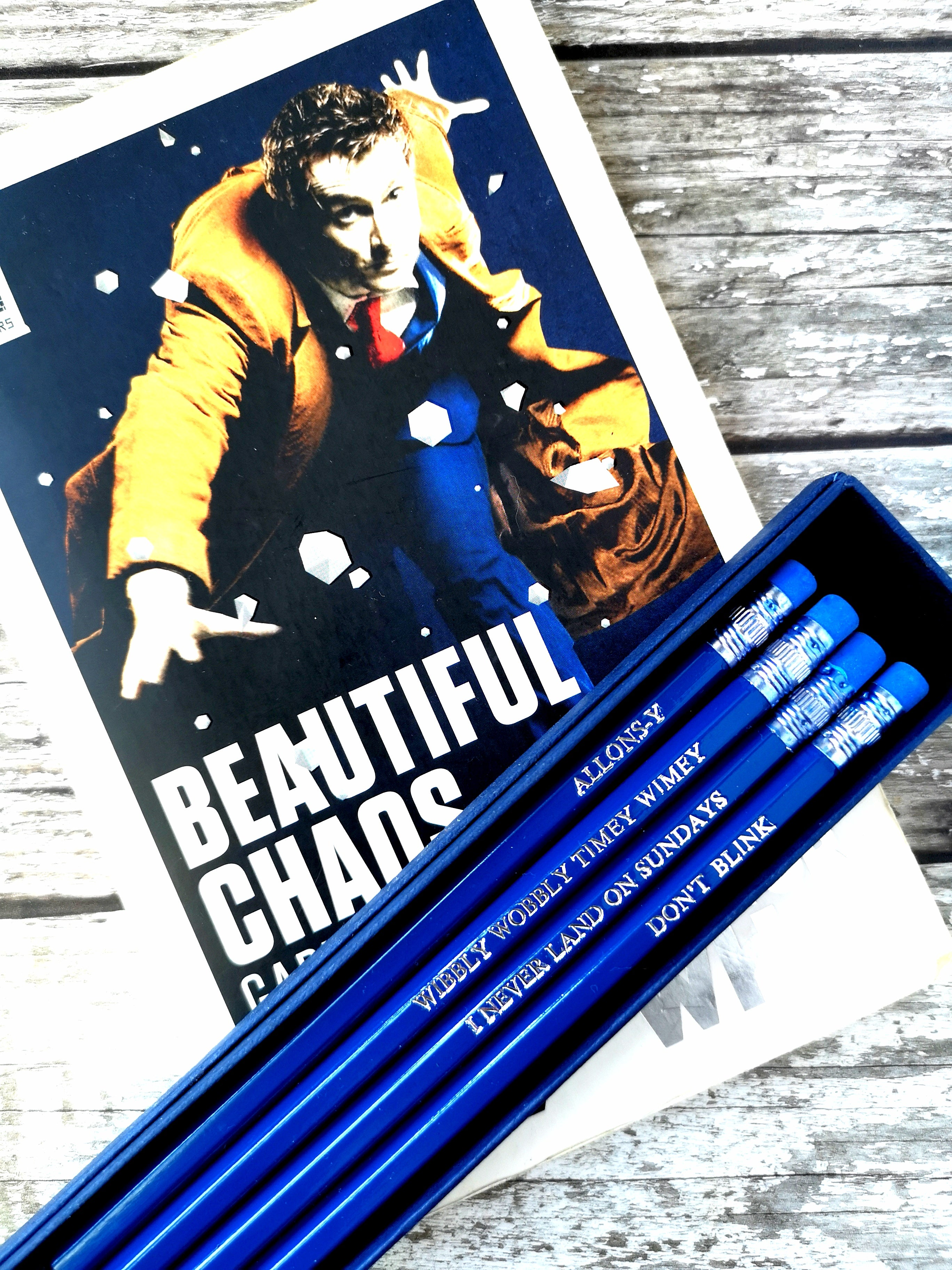 David Tennant's Doctor Pencil Set - ByCandlelight27