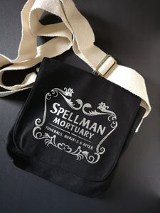 Spellman Mortuary Cotton Canvas Messenger Bag - ByCandlelight27