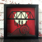 Lost Boys Glow In The Dark 3D Box Frame - ByCandlelight27