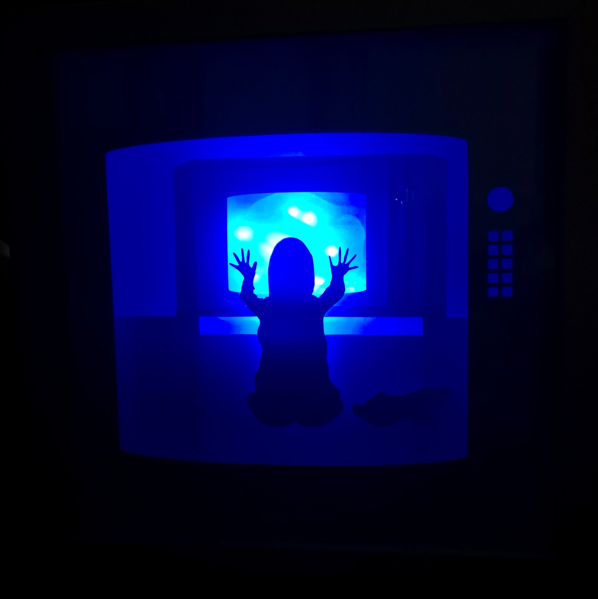 Poltergeist 3D Shadow Box Frame - ByCandlelight27