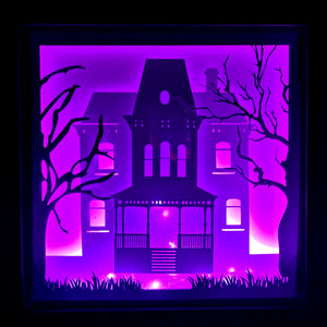 Psycho 3D Shadow Box Frame - ByCandlelight27