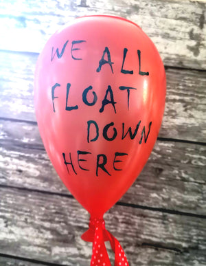 We All Float IT Red Balloon Solar Power Garden Light