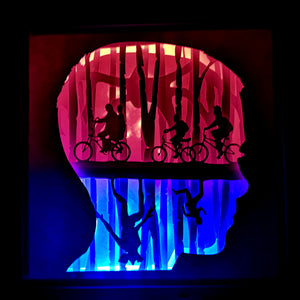 Eleven 3D Shadow Box Frame - ByCandlelight27