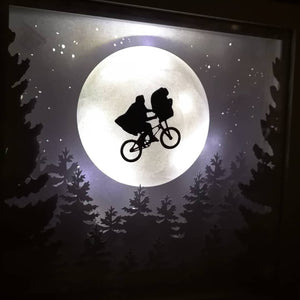 ET inspired Shadow Box Frame