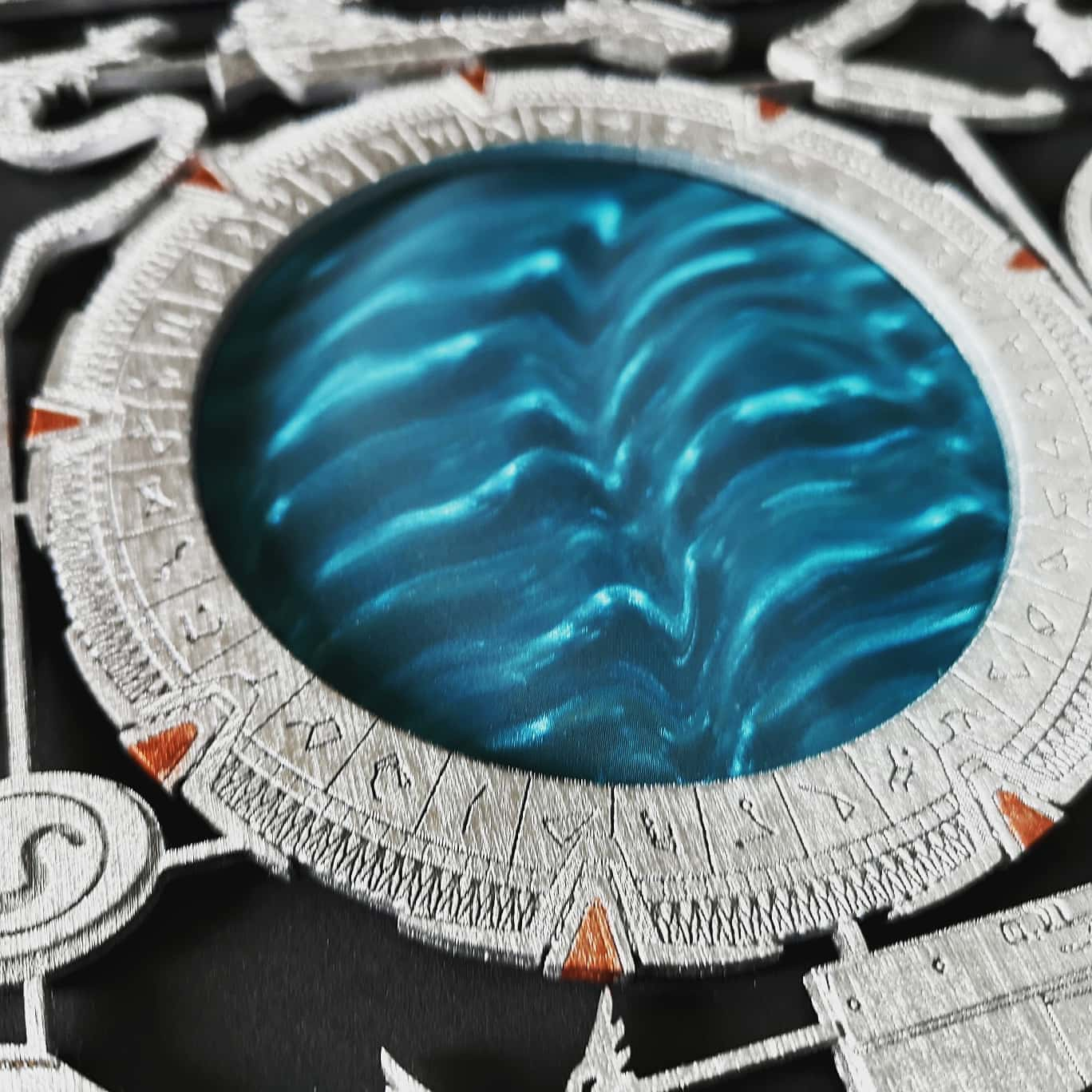 SG1 Stargate Model Kit Art