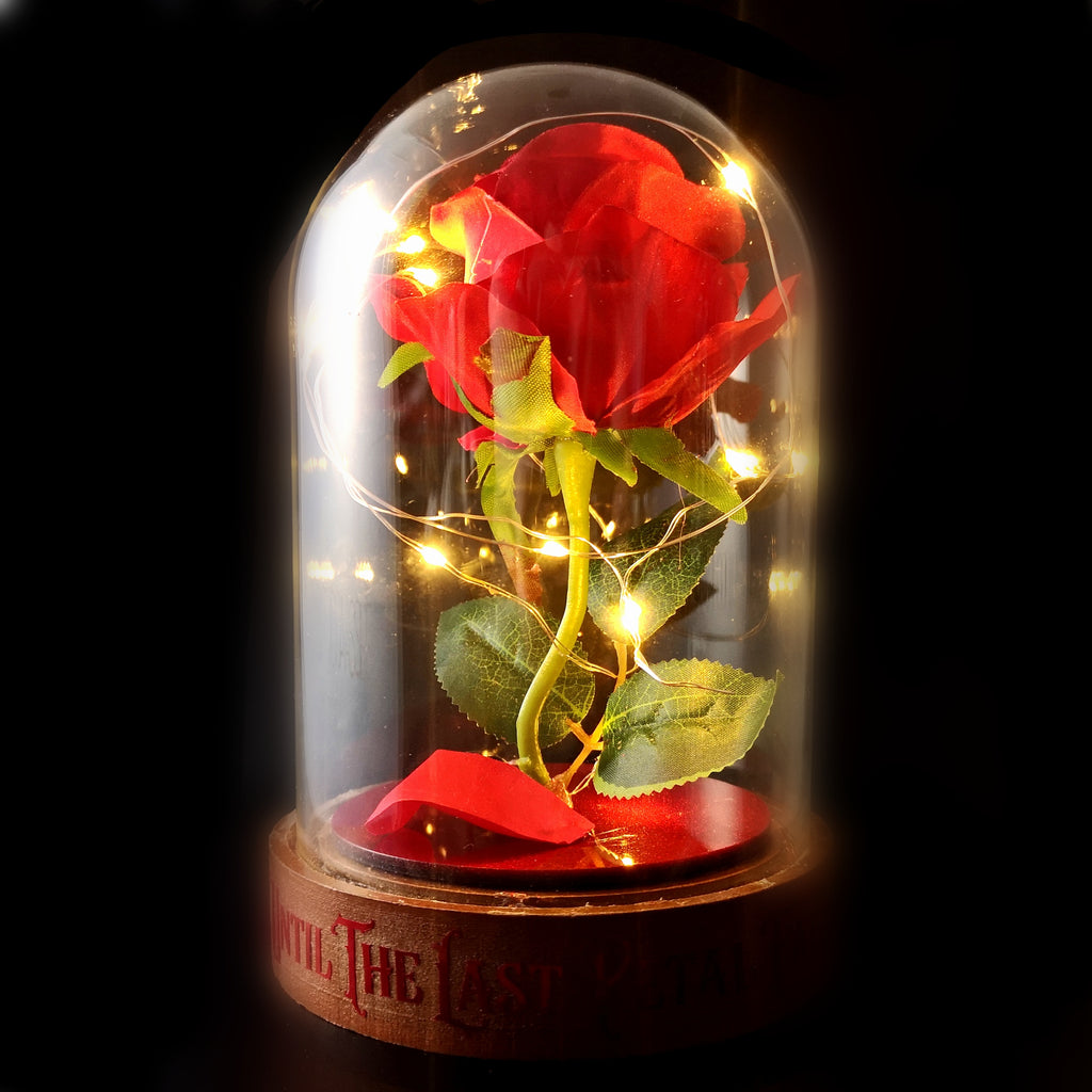 Enchanted Rose LED Dome