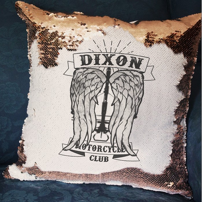 Dixon Motorcycle Club - Hidden Message Cushion - ByCandlelight27