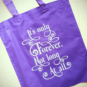 It's Only Forever Labyrinth Canvas Tote Bag - ByCandlelight27