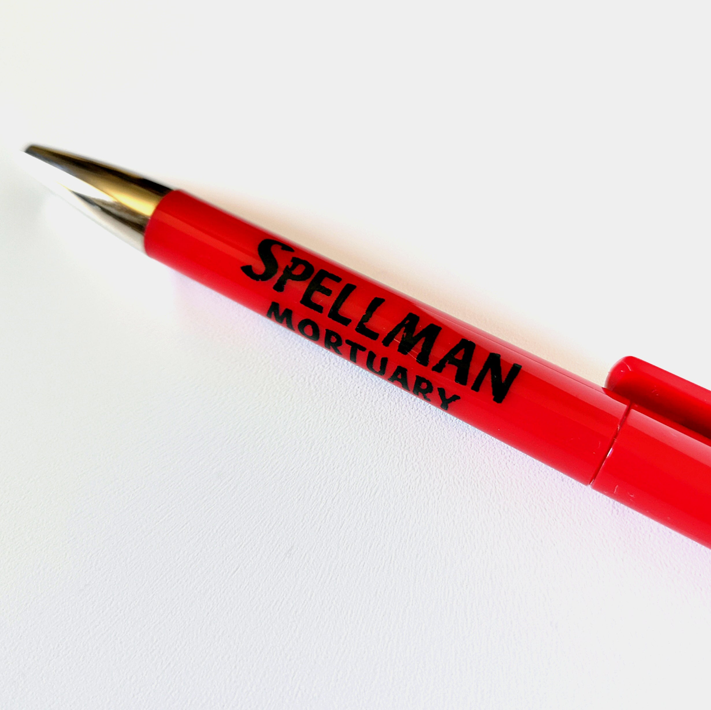 Spellman Mortuary Inspired Pen