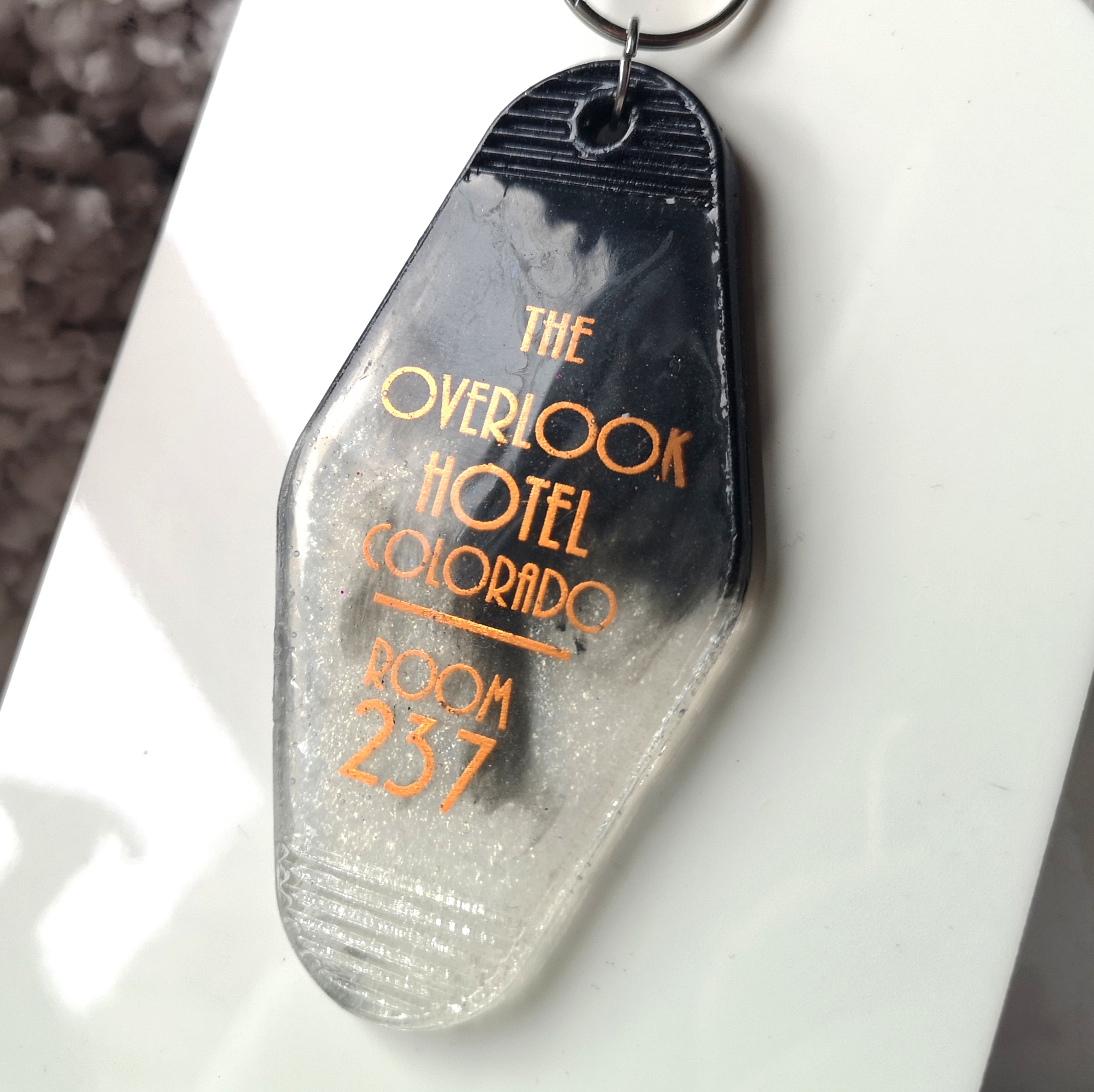 Overlook Hotel Resin Key Ring