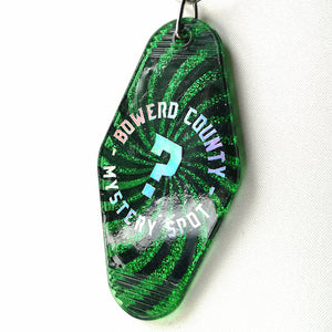 Boward County Mystery Spot Supernatural Resin Key Ring