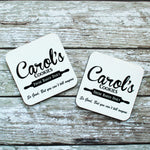 Carols Cookies The Walking Dead - Hardwood Coasters - ByCandlelight27