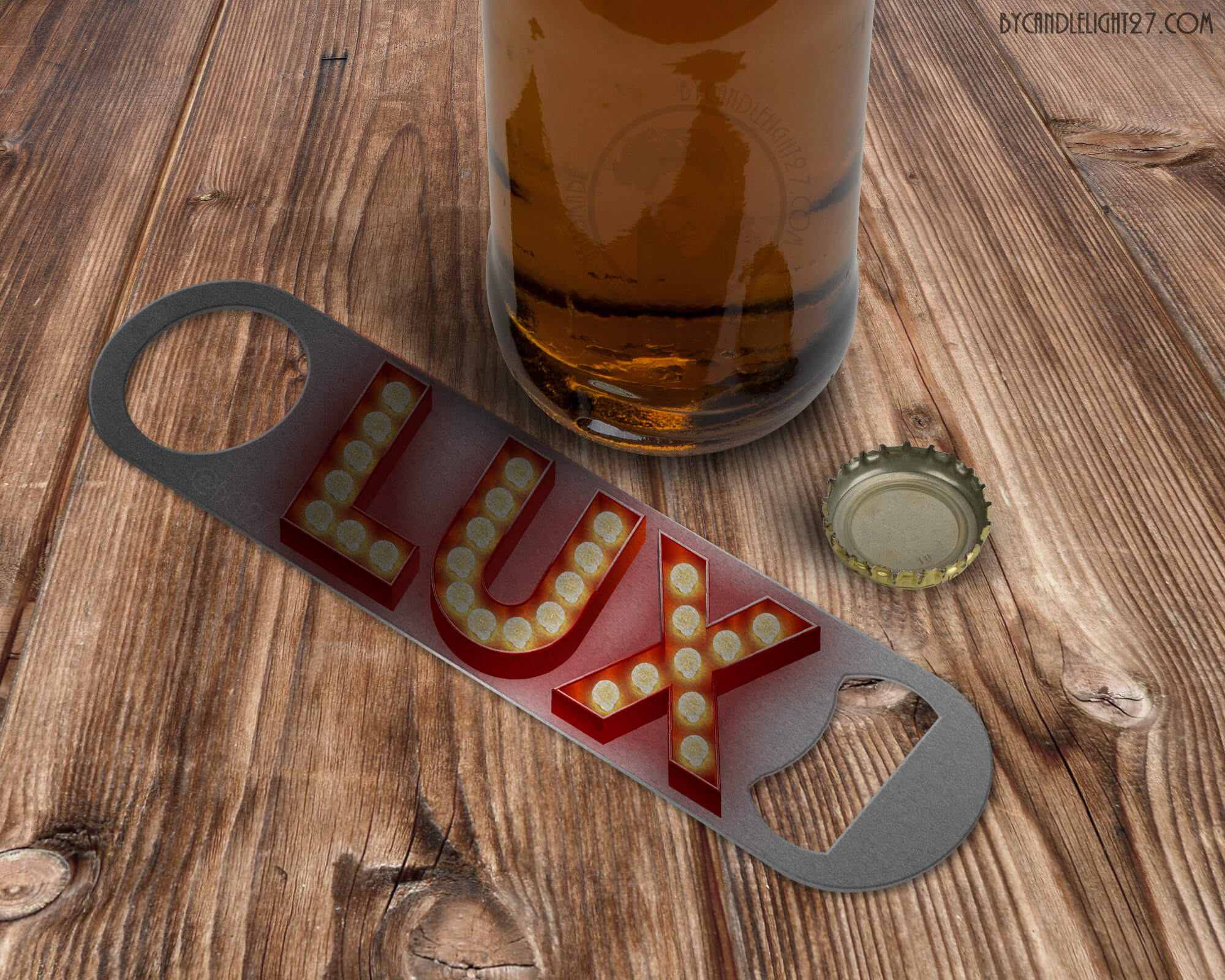 Lux Bar - Lucifer Bar Blade Bottle Opener - ByCandlelight27