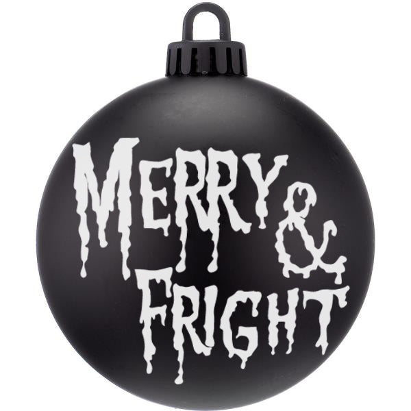 Merry And Fright Dark Christmas Bauble Ornaments - ByCandlelight27