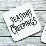 Seasons Creepings - Hardwood Coasters