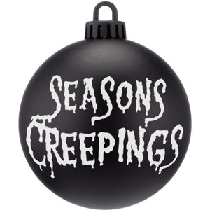 Seasons Creepings Dark Christmas Bauble Ornaments - ByCandlelight27