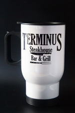 Terminus - The Walking Dead - 14oz Aluminium Travel Mug - ByCandlelight27