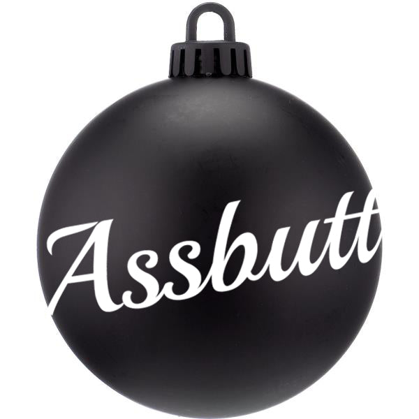 Assbutt Supernatural Christmas Bauble - ByCandlelight27