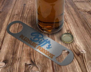 Biff's Pleasure Paradise - Bar Blade Bottle Opener - ByCandlelight27