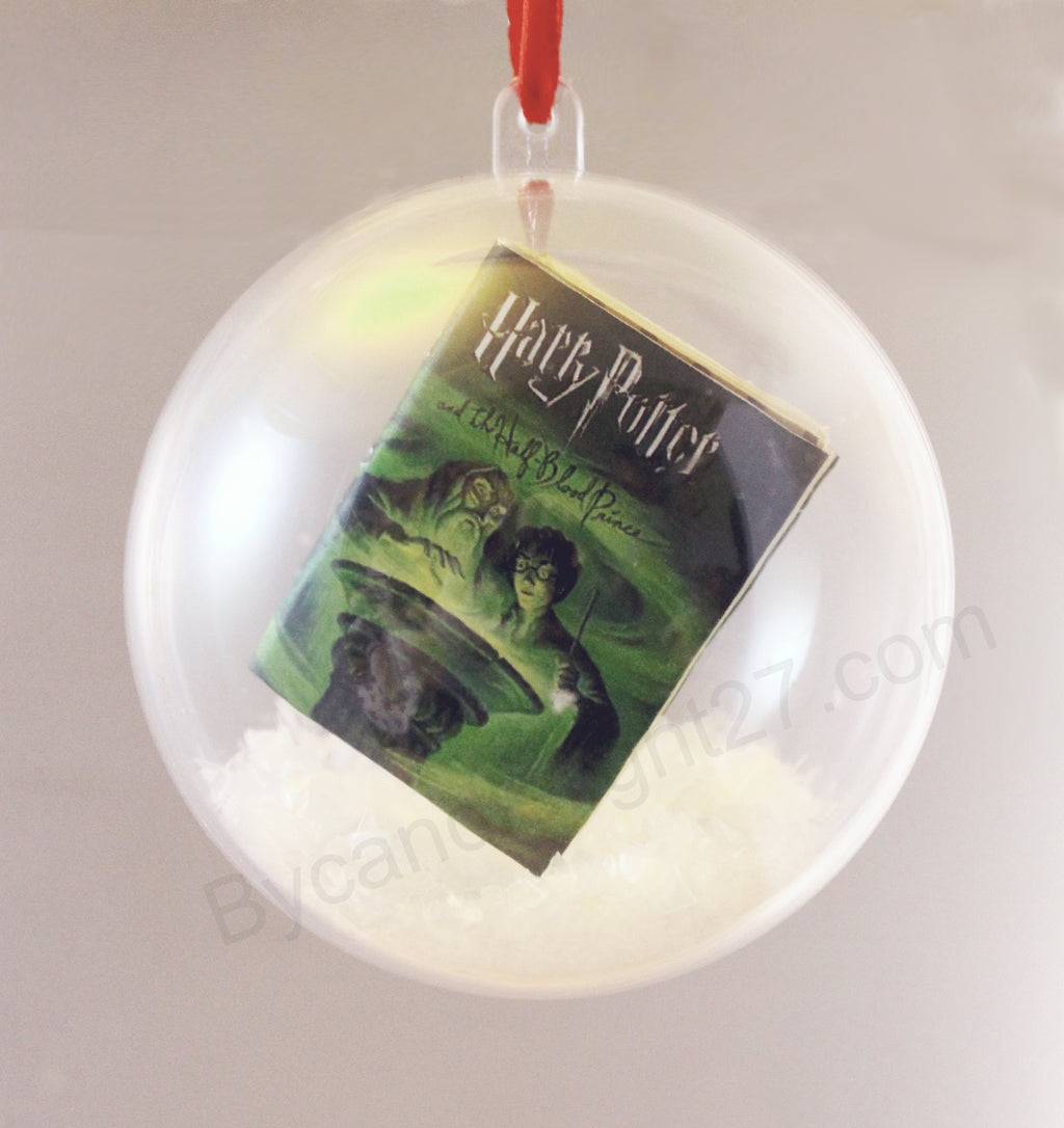 Create Your Own Book Christmas Ornaments