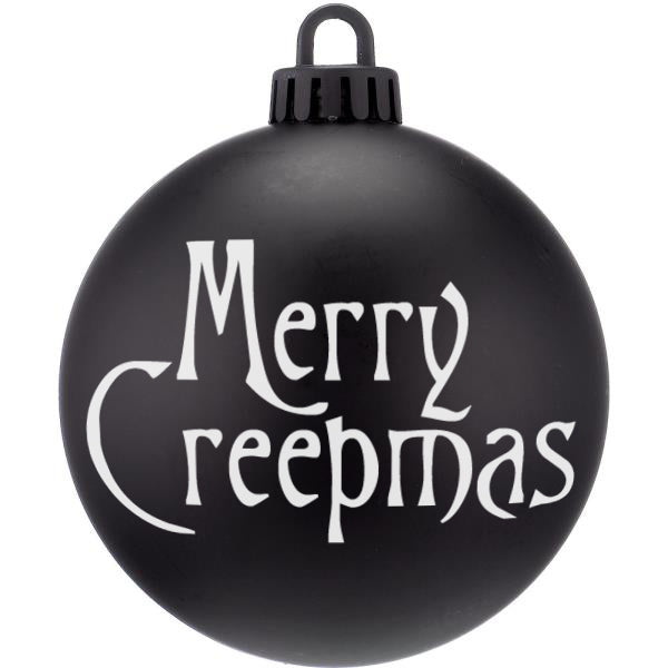 Merry Creepmas Nightmare Christmas Bauble Ornaments - ByCandlelight27