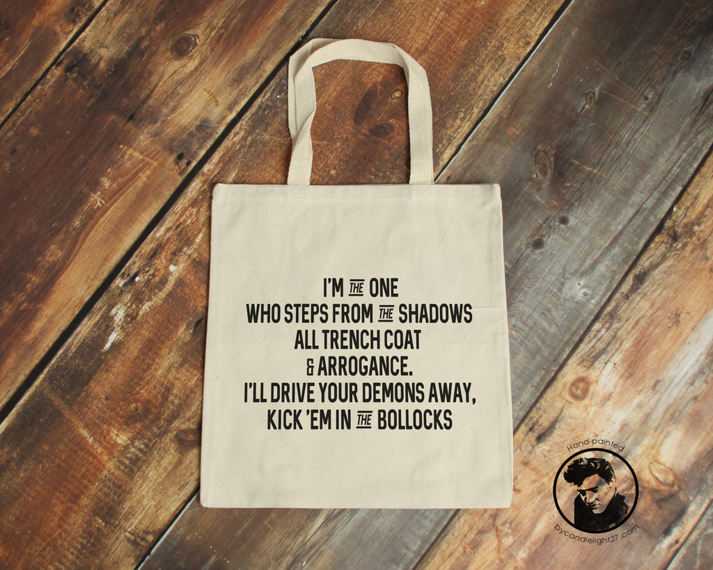 Constantine Canvas Tote Bag - ByCandlelight27
