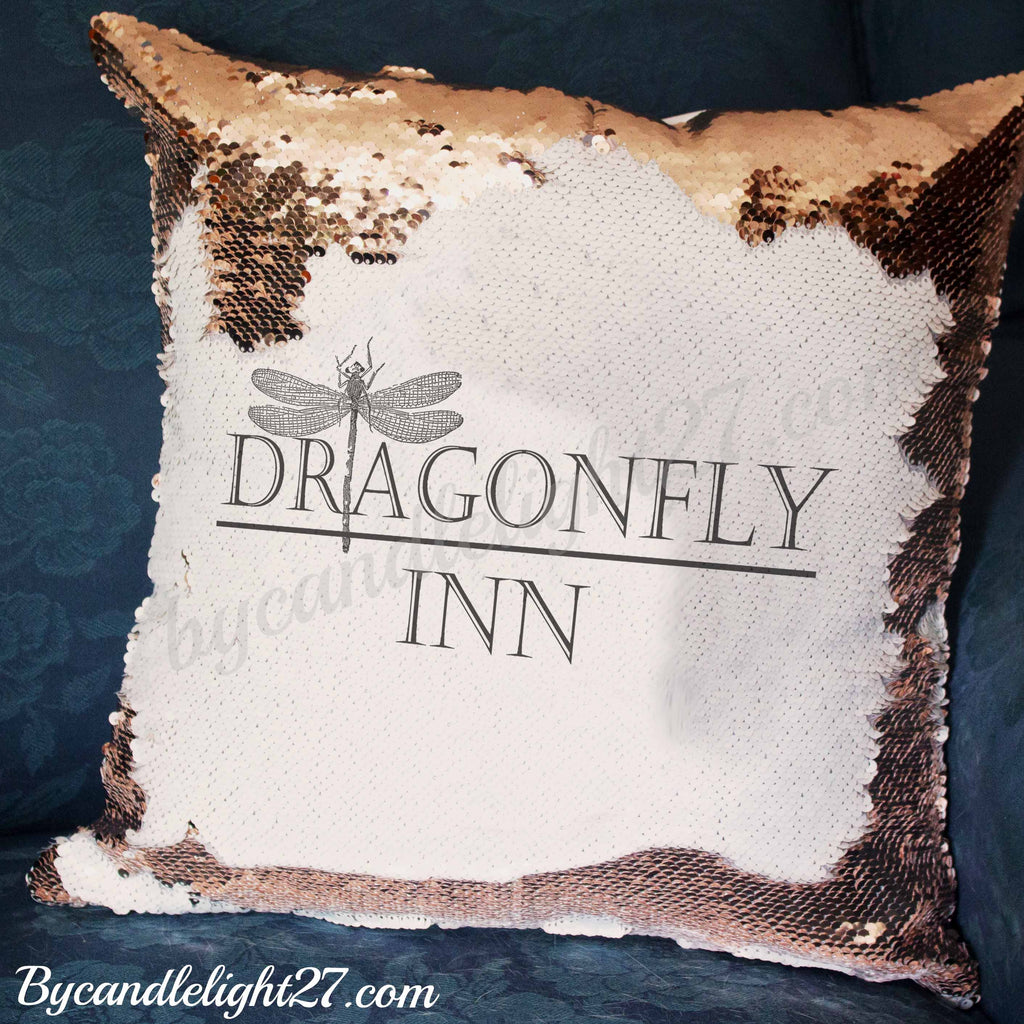 Dragonfly Inn, Stars Hollow - Hidden Message Cushion - ByCandlelight27