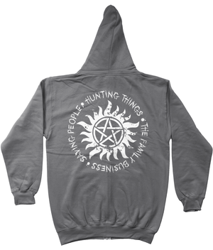 Supernatural Family Business Zip Hoodie