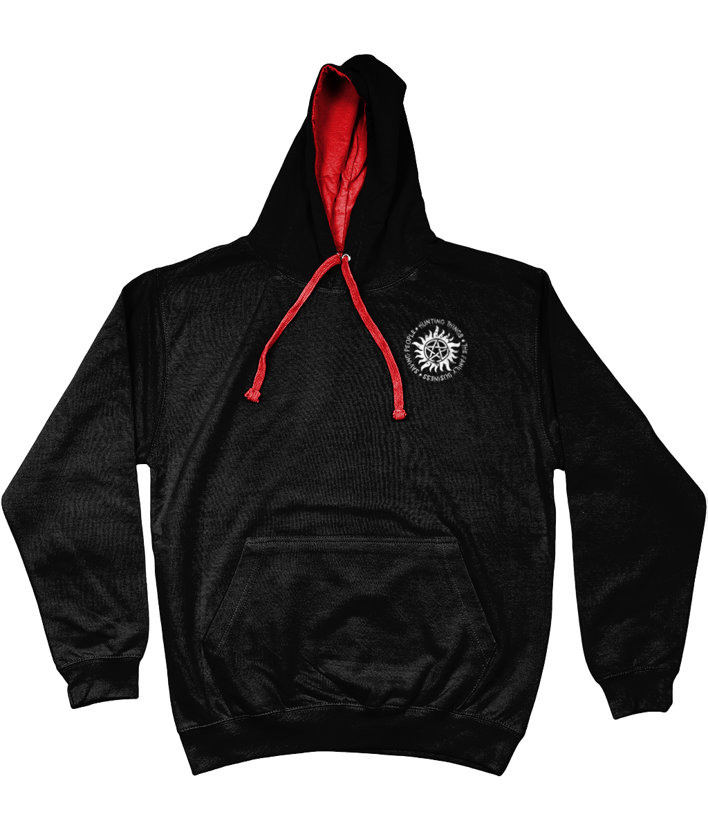 The Supernatural Family Business Varsity Hoodie