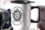 The Family Business -  Supernatural - 14oz Aluminium Travel Mug - ByCandlelight27