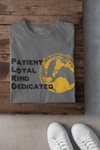 Grey and Yellow House Pride Cotton T-Shirt