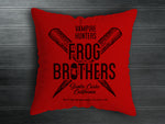 Frog Brothers Handmade Cushion