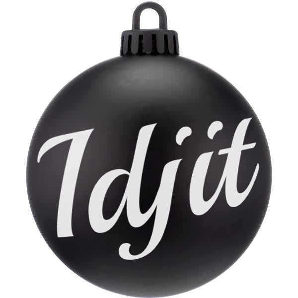 Idjit Supernatural Christmas Bauble - ByCandlelight27