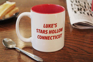 Luke's Diner - Stars Hollow - Gilmore Girls - Inspired - Hand Crafted Cup - ByCandlelight27
