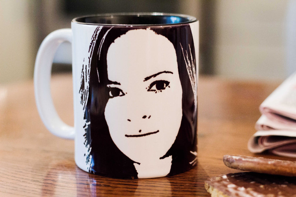 Daniella Panabaker - Caitlin Snow - Killer Frost - The Flash - Hand Crafted Cup - ByCandlelight27