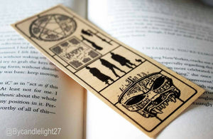 Wooden Bookmark - Buffy The Vampire Slayer - Fix Kit