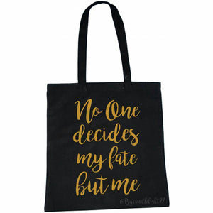 No one decides my fate but me - Emma Swan - Once upon a time - Hand printed - Tote Bag - ByCandlelight27