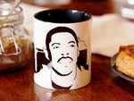 Ernie Hudson - Winston Zeddemore - Ghostbusters - Hand Crafted Cup - ByCandlelight27