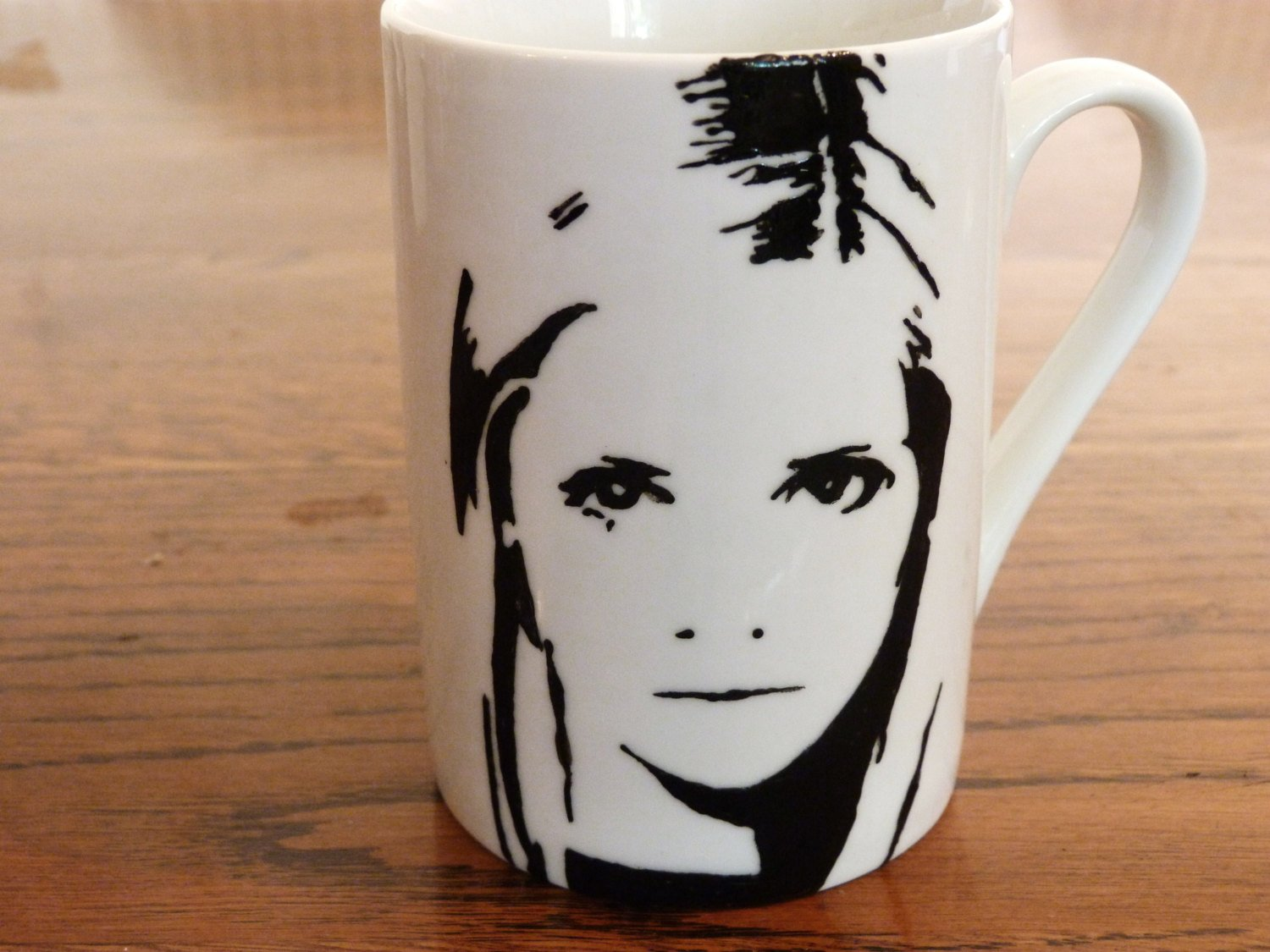 Sarah Michelle Gellar, James Masters, David Boreanaz, Buffy, Spike, Angel, Hand painted, Hand PrintedBuffy the Vampire Slayer cup set