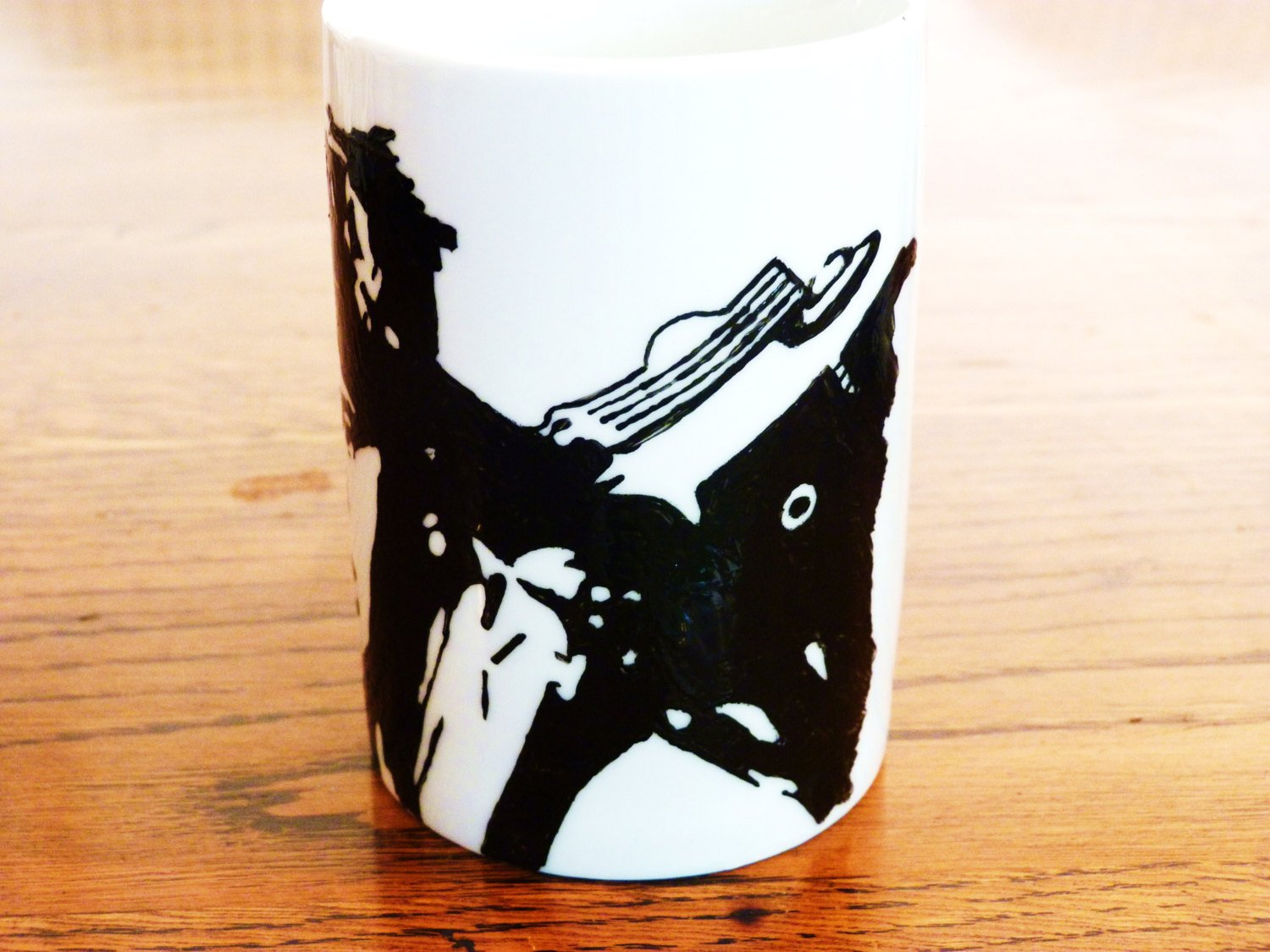 Dan Aykroyd, Ghostbusters, ray stanz, hand printed, hand painted, cup - ByCandlelight27