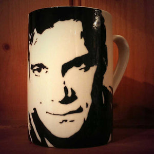 Hand Painted William Shatner Cup - ByCandlelight27