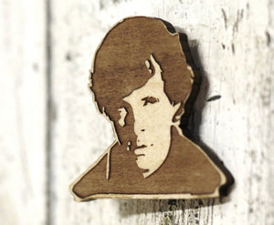Limited Edition - Sherlock - Benedict Cumberbatch - Engraved Brooch - ByCandlelight27