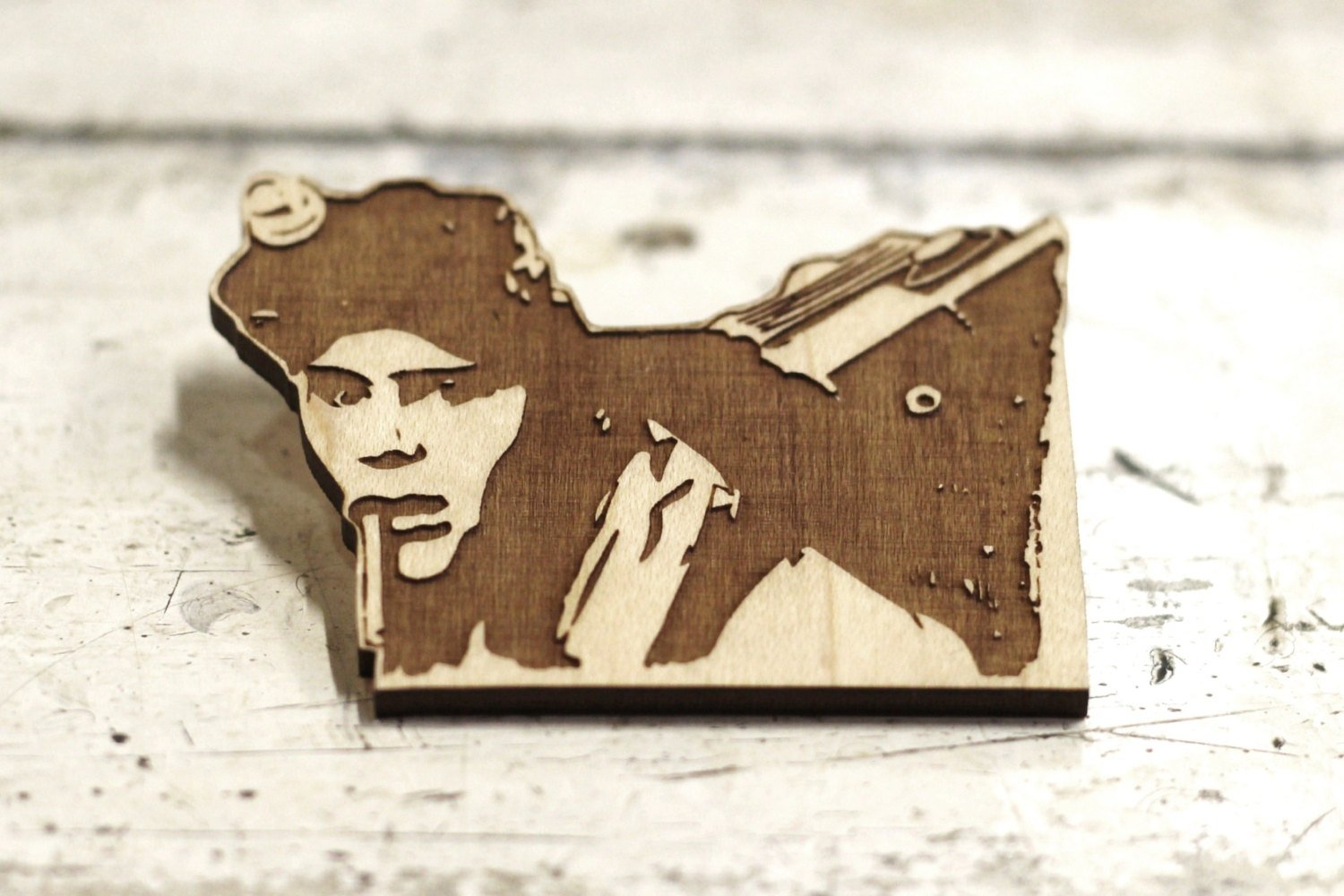 Limited Edition - Dan Aykroyd - Ray Stanz - Ghostbusters - Engraved Brooch - Key Ring - ByCandlelight27