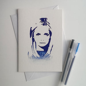 Buffy The Vampire Slayer, Sarah Michelle Gellar Card - ByCandlelight27