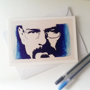 Bryan Cranston, Walter White, Breaking Bad Card - ByCandlelight27