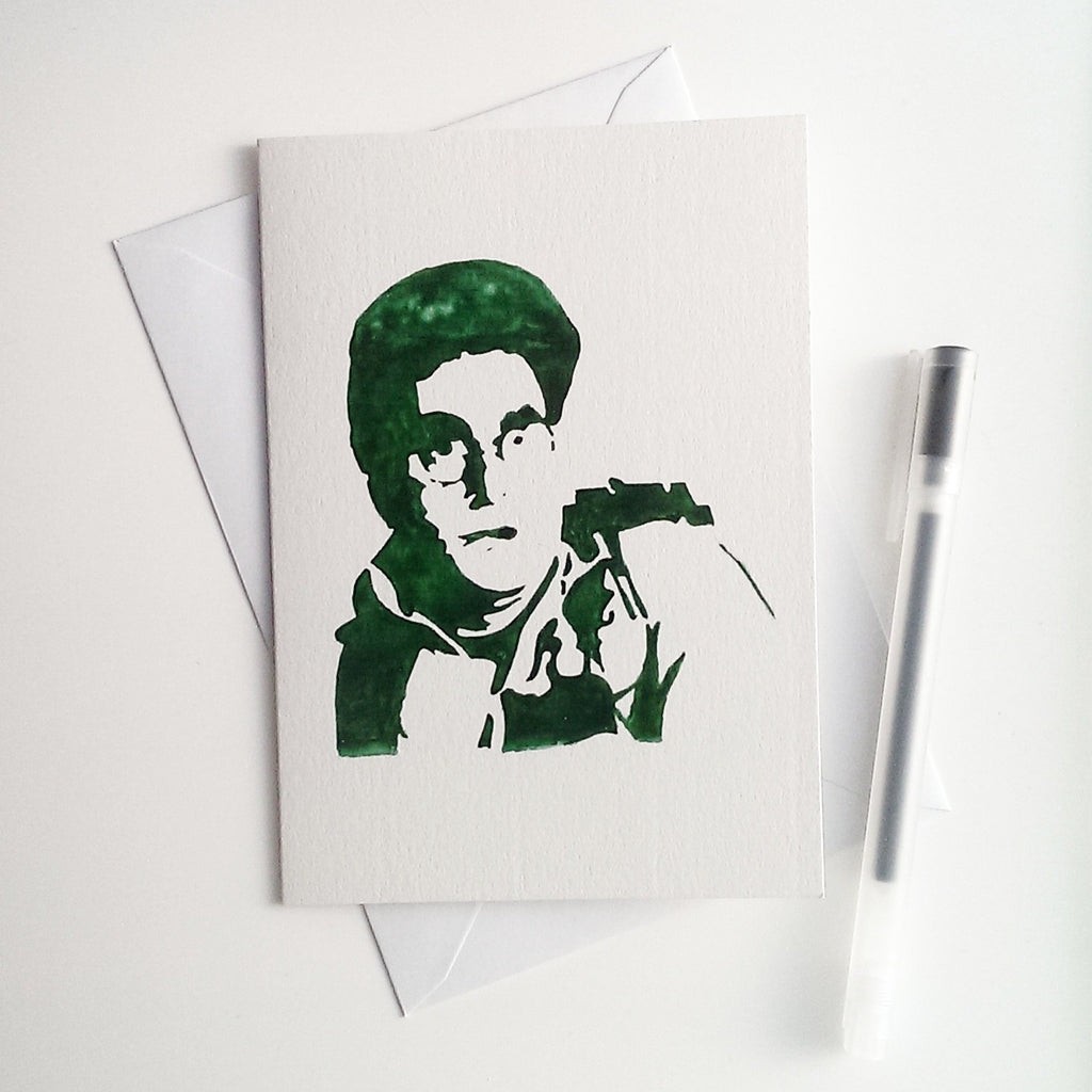 Harold Ramis, Egon Spengler, ghostbusters Card - ByCandlelight27