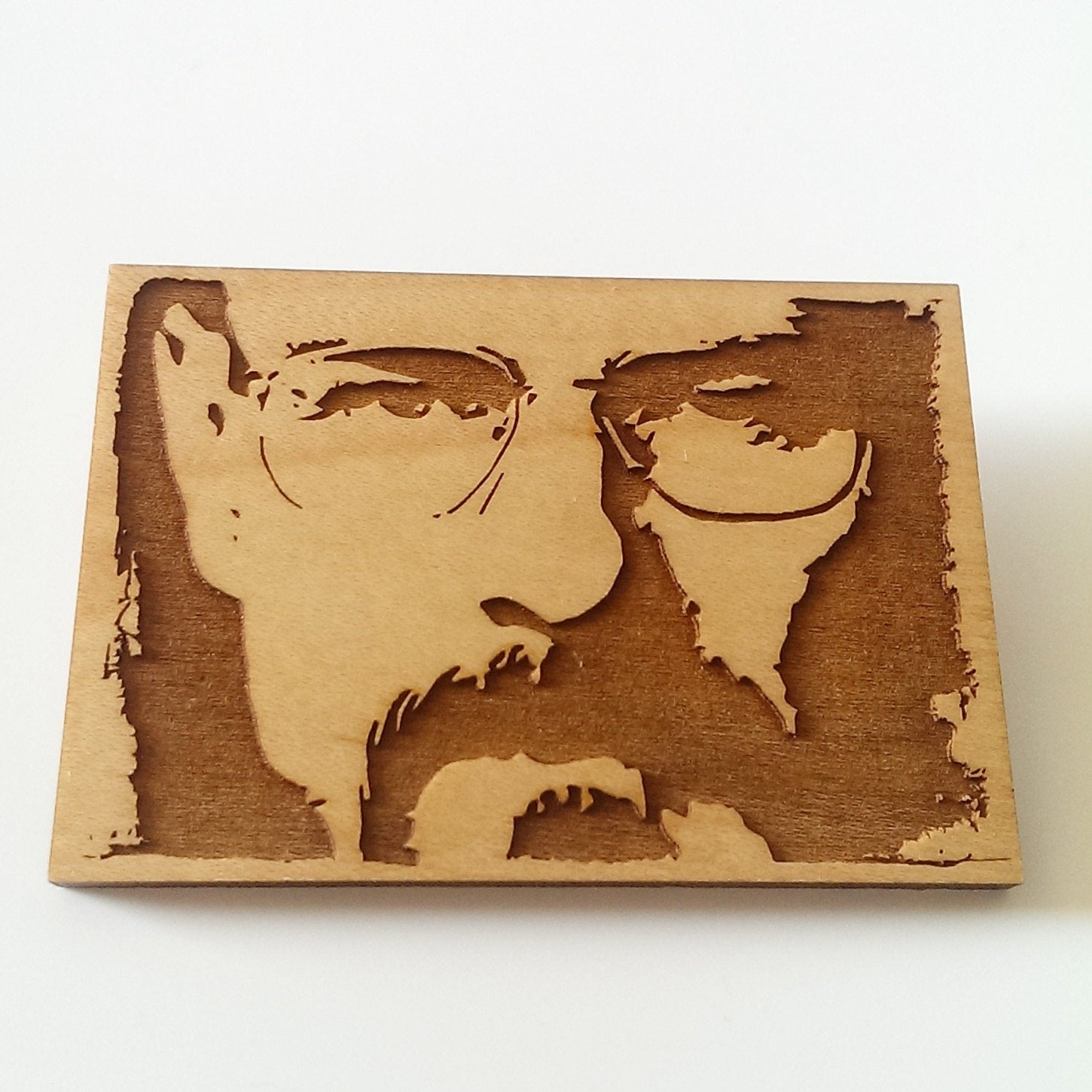 Limited Edition - Bryan Cranston, Breaking Bad - Walter White - Engraved - Key Ring, Magnet or brooch
